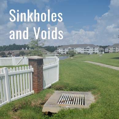 Sinkholes and Voids