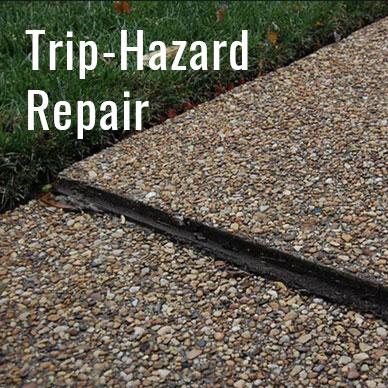 Trip-Hazard Repair
